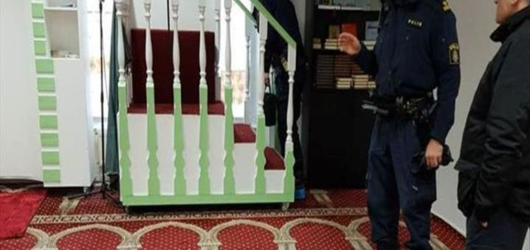 Attack on Swedish mosque probed as hate crime