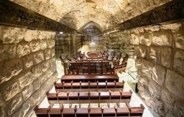 Israel unveils new synagogue in Jerusalem's Al-Aqsa