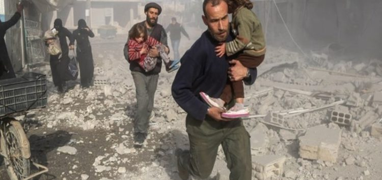 War Monitor: Syrian, Russian jets kill 27 in residential areas in Eastern Ghouta