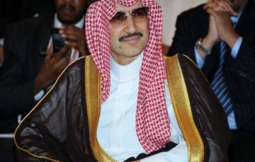 Billions 'wiped off' Al-Waleed's fortune following his arrest in anti-corruption purge