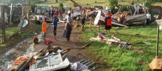 Tornado rips through Vaal Marina leaves over 30 injured, 300 homes damaged