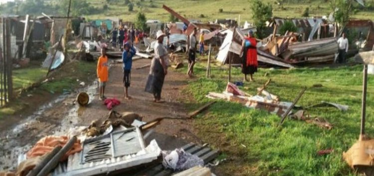 Tornado rips through Vaal Marina leaves over 30 injured, 300 homes damaged