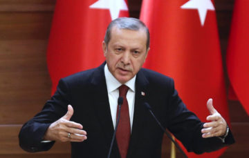 Erdogan:Turkey seeks justice, not land, in Syria