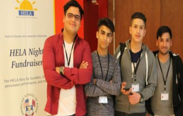Young Afghans reach for the top, participate in international debate