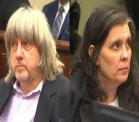 'California captive' couple charged with torture and false imprisonment following discovery of 13 siblings