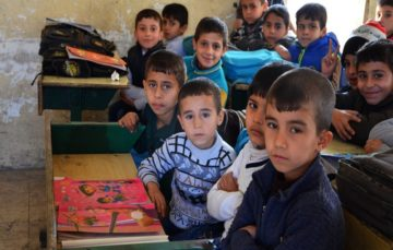 Teachers in Mosul learn to cope with traumatized pupils