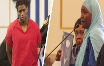 That emotional moment when the mother of murdered teen offers to help the killer