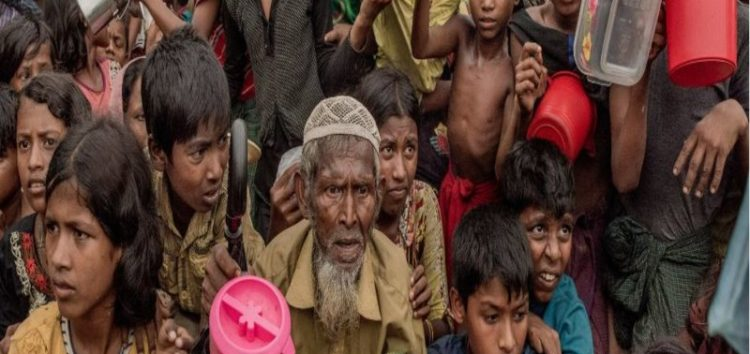 The sad plight of the children in the Rohingya refugee camps