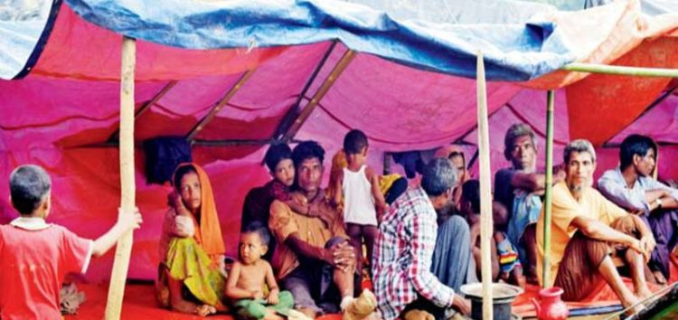 Report: Hundreds of Rohingya villages destroyed