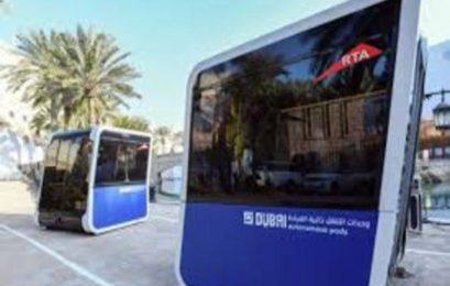 World's first 'autonomous pods' unveiled in Dubai