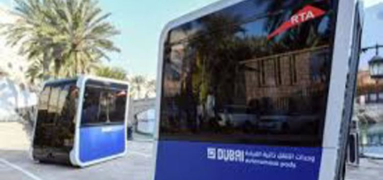 World's first 'autonomous pods' unveiled in Dubai