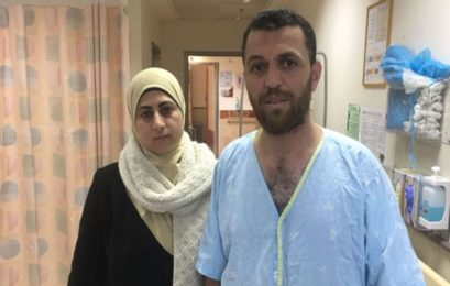 Palestinian man left scarred by Israeli army dog attack during house raid