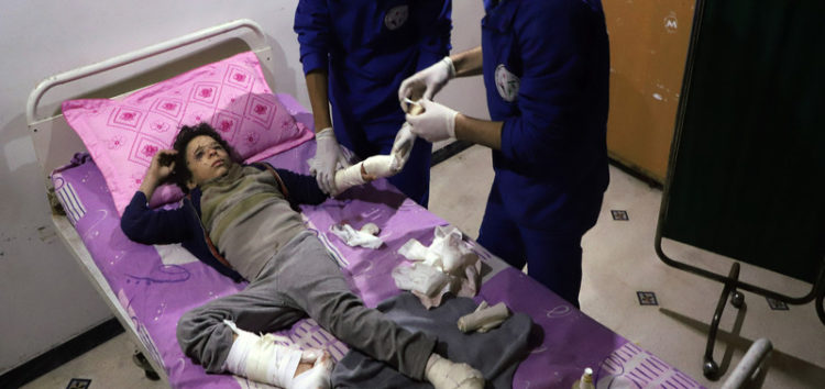Doctors in Eastern Ghouta describe the daily horror scenes amid continued bombardment by Assad regime