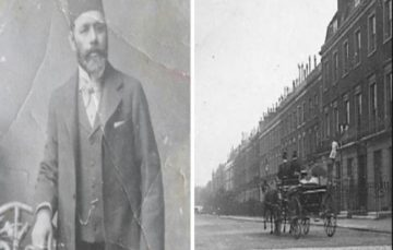 Meet the man who Founded London's First 'Mosque'- South African born Hadji Mohammad Dollie