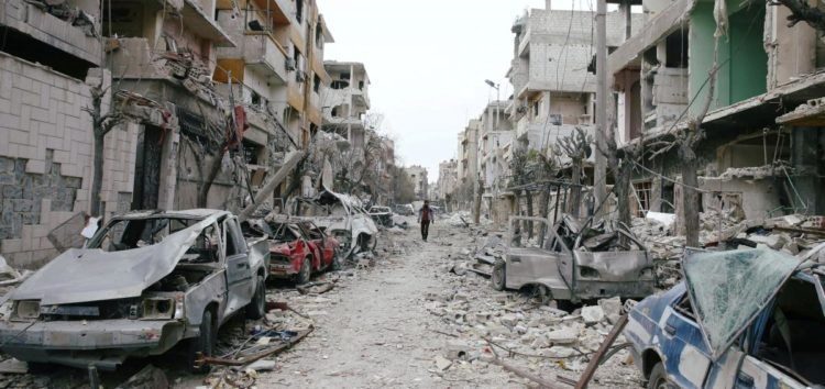 """ICRC: It's """"Impossible"""" to bring an aid convoy in five hours to Ghouta"""