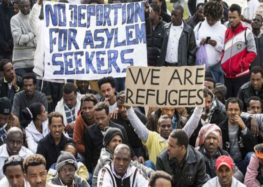 Hundreds of African migrants begin hunger strike over Israeli deportation policy