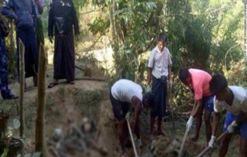 Evidence of Rohingya mass graves uncovered in Myanmar