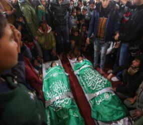 Gaza: 2 Palestinian teens killed in Israeli raids