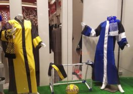 Soccer team abayas, Saudi Arabia's new fashion trend