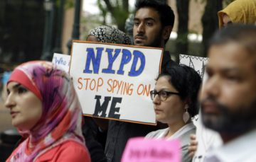Report reveals that US police spied on Muslims and African Americans