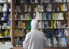 Syrians travel from one area to another in search of much needed medicine