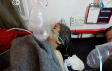 Civilians suffocate following new 'toxic gas' attack in Syria's Saraqeb