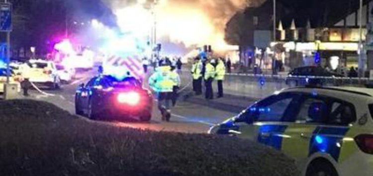 Four in 'critical condition' in UK explosion