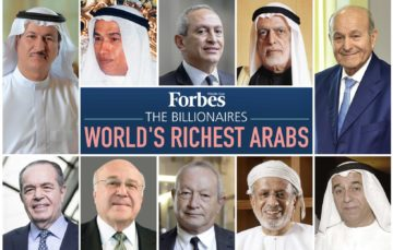 Forbes releases World's Richest Arabs list for 2018