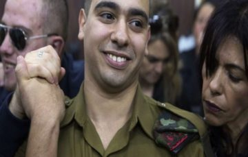 Elor Azaria, the Israel soldier who killed wounded Palestinian could soon be out on parole