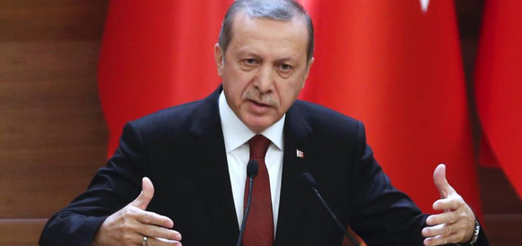 President Erdogan says Muslims are primary targets of terror groups