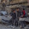 Regime airstrikes kill 59 more civilians in Eastern Ghouta