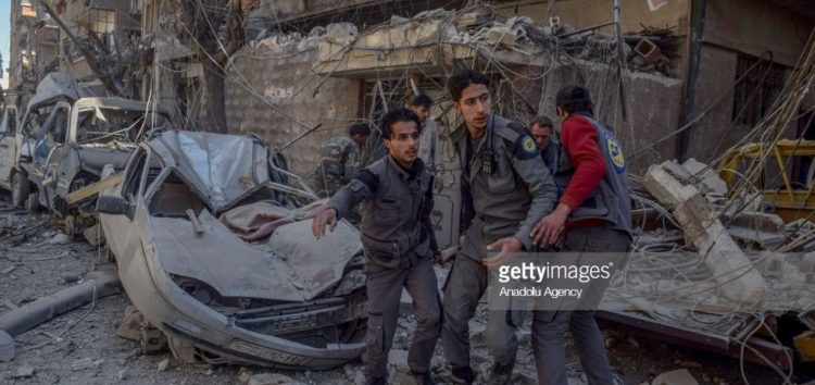 Regime airstrikes kill 59 more civilians in Eastern Ghouta