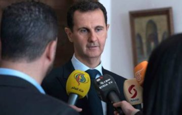 Syria's President Bashar al-Assad says his forces must push on with Eastern Ghouta campaign