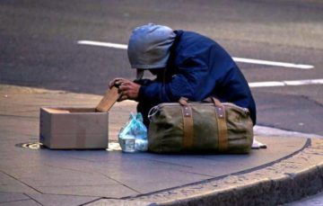 Policy suggesting beggars to be issued with £100 fines sparks outrage