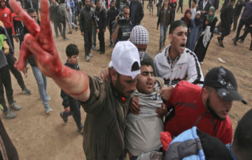15 Palestinians killed, more than 1,400 others wounded by Israeli forces during #ReturnMarch