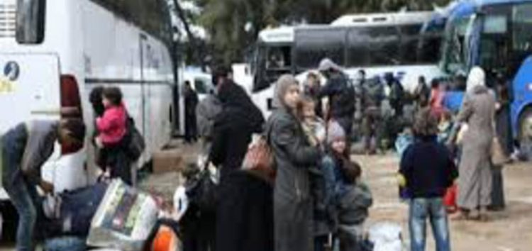 'Biggest convoy yet' leaves rebel pocket of Syria's Eastern Ghouta