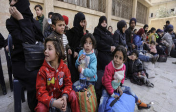 Some 150 civilians evacuated from Syria's Ghouta