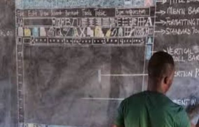 Viral story about Ghana's computer teacher who taught computers on a blackboard receives positive response