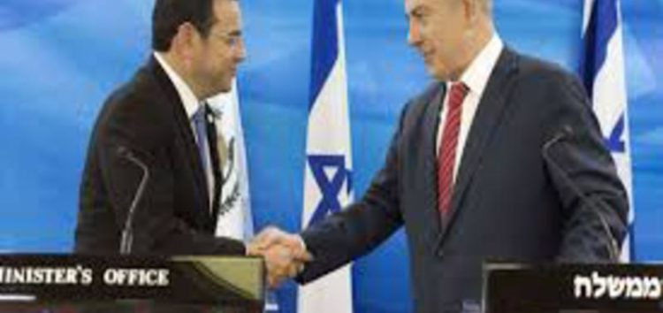 Guatemala to move embassy in Israel to Jerusalem in May, two days after US embassy move