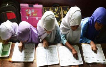 Bangladesh madrasa burns students' mobile phones