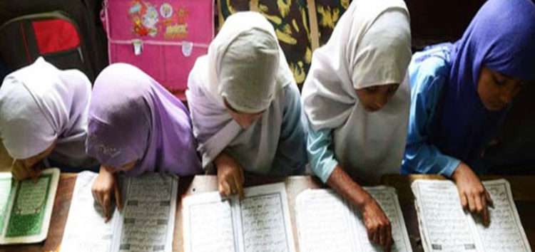 Bangladesh madrasa burns students' mobile phones