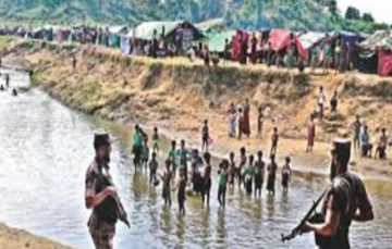 Rohingya in 'no man's land' reject return on Myanmar terms