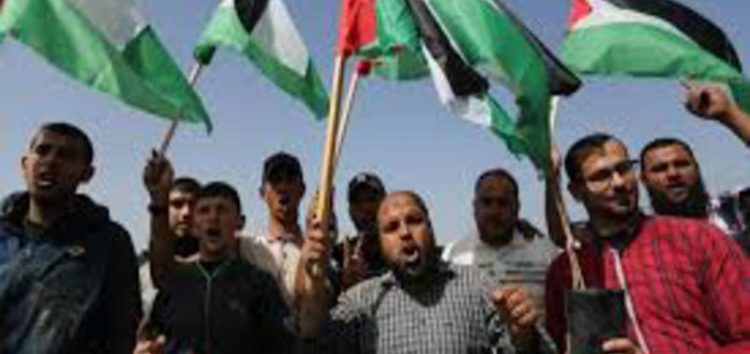 Palestinians to march as US embassy move nears