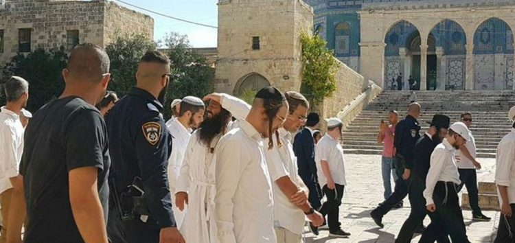 Palestinians reject plans to hold Jewish prayers at Al-Aqsa Gates
