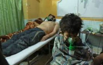 Assad regime attack eastern Ghouta with chlorine gas
