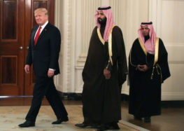 Trump touts 'great friendship' with Saudi Arabia ahead of meeting Prince Muhammed Bin Salmaan