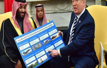 US approves arms sale to Saudi Arabia worth $1bn as Crown prince continues US visit