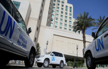 Douma: Syrian chemical probe delayed after UN security team comes under fire
