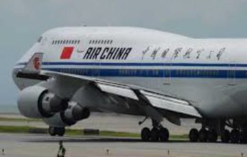 Air China flight diverted after man threatens crew with a pen