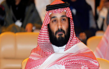 Saudi Crown Prince says Palestinians should 'accept Trump proposals or shut up and stop complaining'